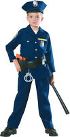 Kids Police Officer Costume Cop Costume Child Size Small 4-6