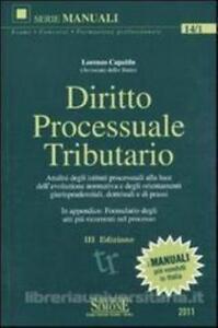 Diritto processuale tributario, MANUALI EDIZIONE SIMONE, COD.9788824457118