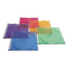 Verbatim CD/DVD Slim Case Assorted Colors 50/Pack 94178