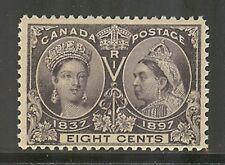 Canada # 56, 1897 8c Queen Victoria - Diamond Jubilee Issue, Unused Never Hinged
