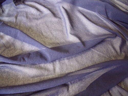 Estiramiento de malla azul marino oscuro-Vestido//Tela Artesanal-Libre P/&P