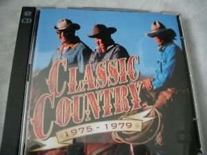 Various-Classic-Country-Double-CD-1975-1979