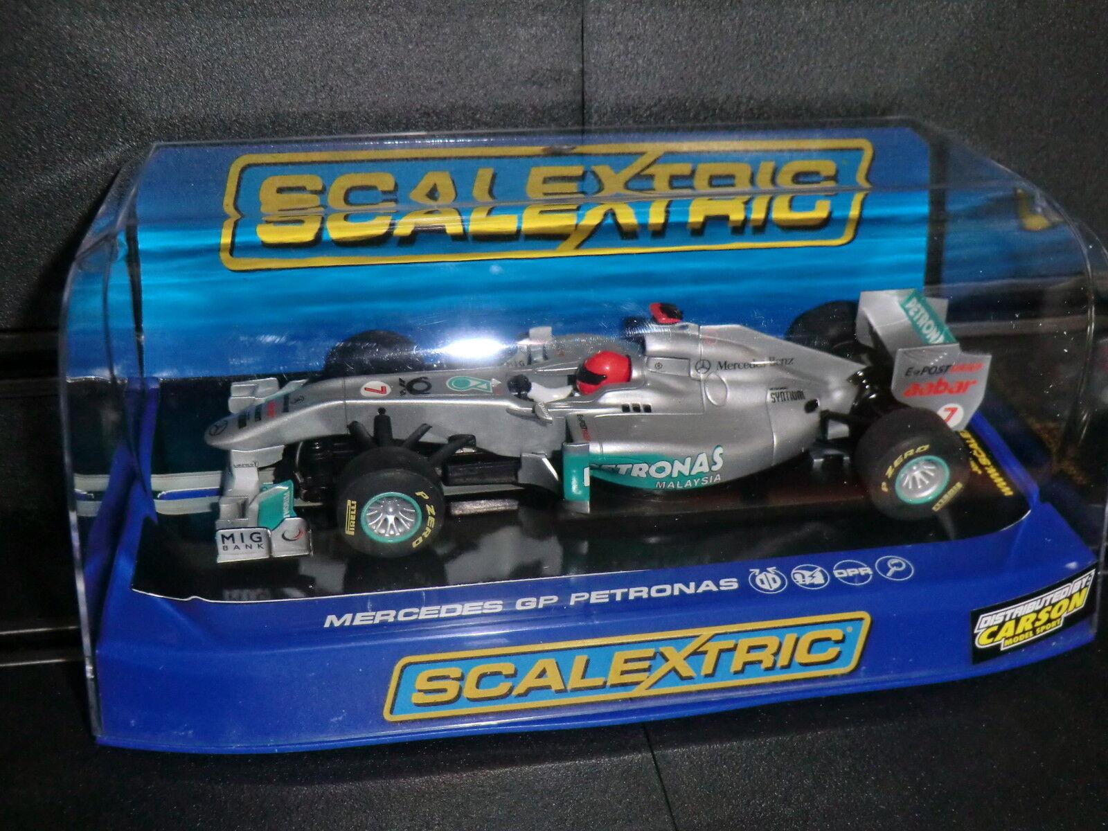 Scalextric C3167  Mercedes GP Pertronas No. 7 Schumacher  2011  --- NEU in OVP -