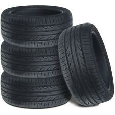 4 New Lexani LXUHP-207 245/40ZR18 97W XL All Season Ultra High Performance Tires