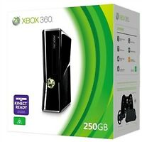 Xbox360 250GB  Slim Console  (PAL) Black