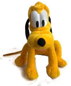 """Disney Store 14/"""" PLUTO the Dog Plush Toy"""