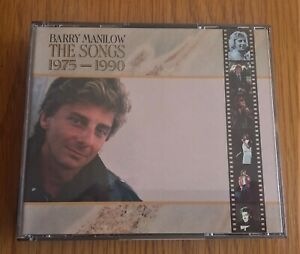 BARRY-MANILOW-THE-SONGS-1975-1990-ORIGINAL-1990-UK-2-x-CD-ALBUM-IN-FAT-BOX