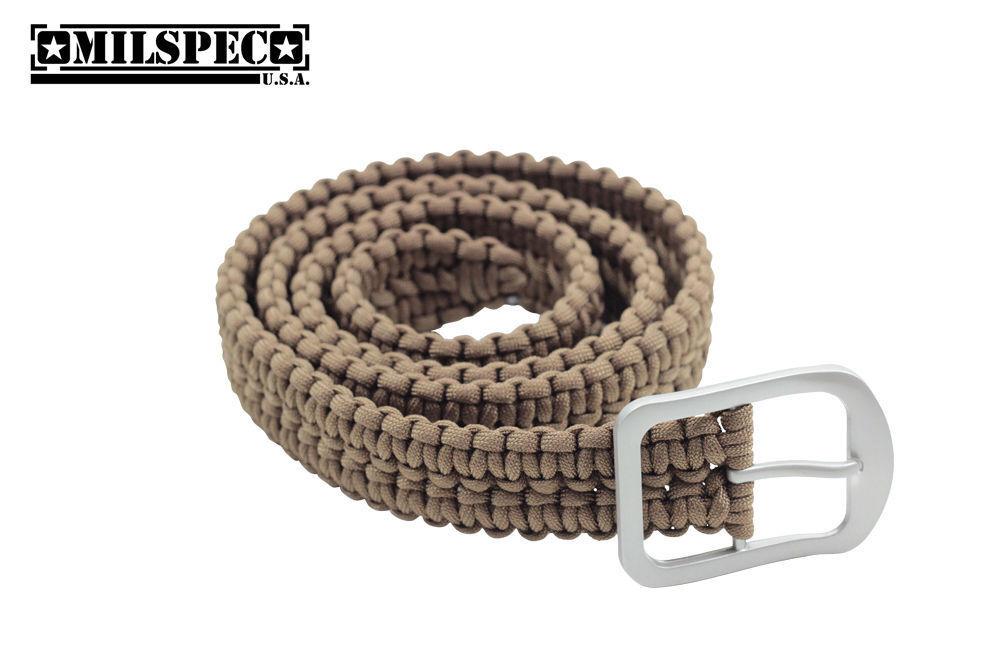 Paracord Belt - Length  52  - Double Weave