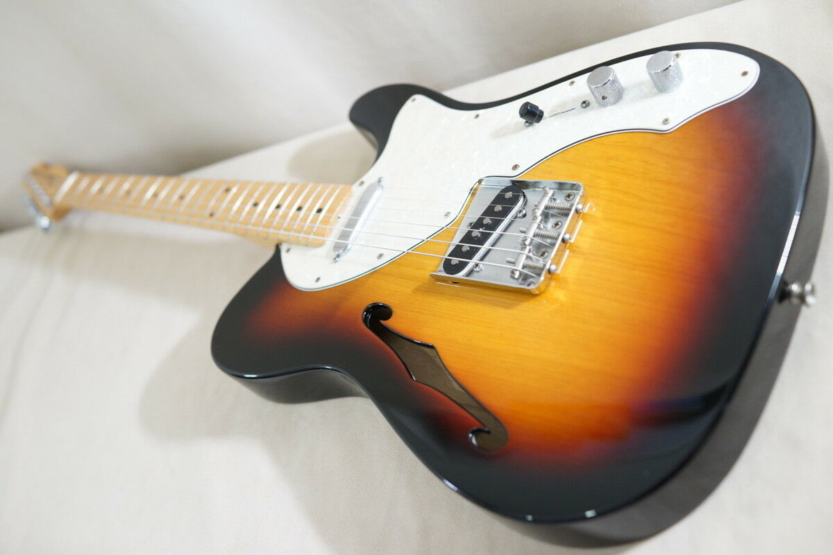 Fender Mexico Classic Seriese 69 Telecaster Thinline 3CS rare JAPAN EMS F S