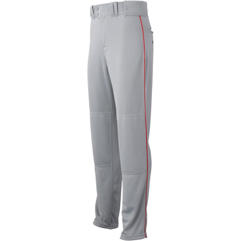 Rawlings Mens Straight Semi Relaxed Piped Baseball Pants