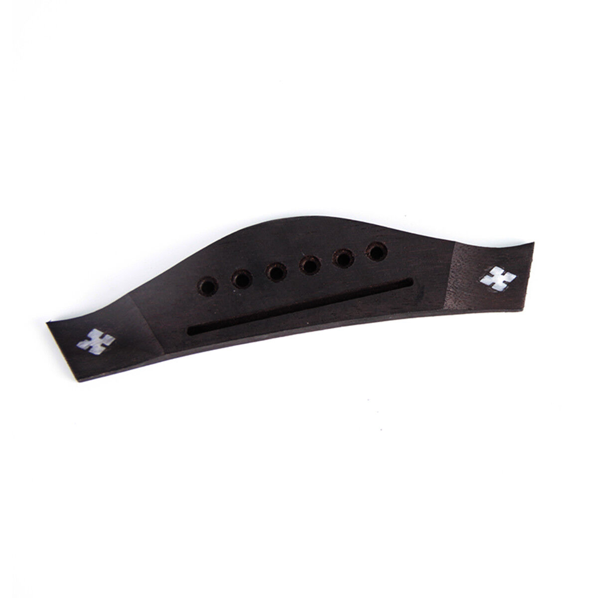 6 string bridge for acoustic guitar accessories replacement parts 634458768139 ebay. Black Bedroom Furniture Sets. Home Design Ideas