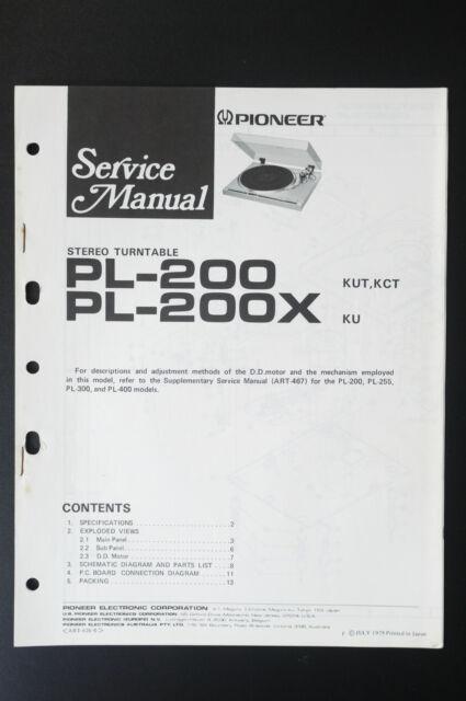 Pioneer Pl Service