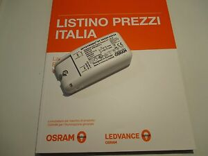 Plafoniere Led Osram : Alimentatore osram driver per led ot volt w ebay