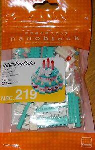 Birthday Cake Nanoblock Micro Sized Building Block Construction Brick Toy NBC219