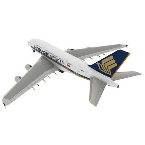 1:300 Airbus A380 3D Paper Model Papercraft Cardboard for Children Paper Toys Dq