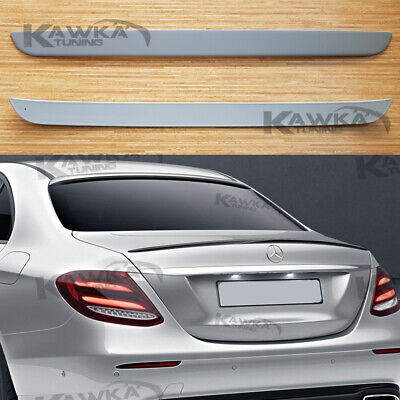 Rear Tow Eye Cover Compatible with MERCEDES BENZ C-CLASS 2015-2018 Lower Primed with AMG Package Sedan