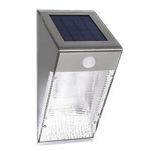 Solar Außen Beleuchtung Bewegungsmelder Led Lampe Garten Terrasse