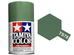 TAMIYA COLORE SPRAY PER PLASTICA FIELD GRAY GRIGIO CAMPO 100ml  TS78