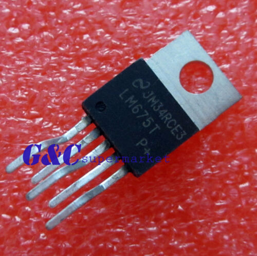 25PCS LM675T NS TO-220 Power Operational Amplifier NEW GOOD QUALITY T59