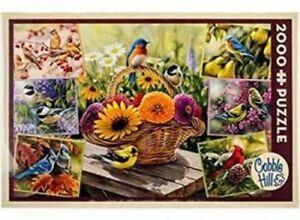 Cobblehill Puzzle Puzzlespiel -2000 Teile Rosemary's Vögel CBL89007
