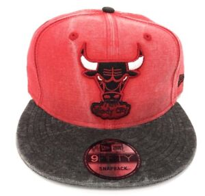 679280a744e Chicago Bulls New Era NBA 9Fifty 950 Rugged Snapback Mens Red Fit ...