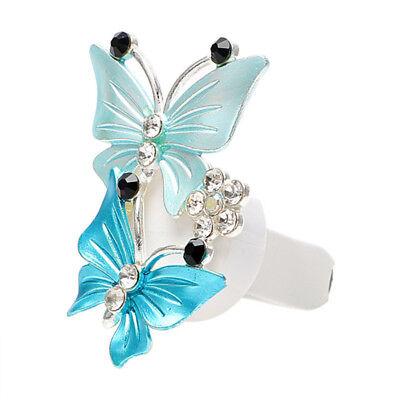 Fashion Crystal Car Air Freshener Perfume Air Vent Clip Essential Oil Diffuser