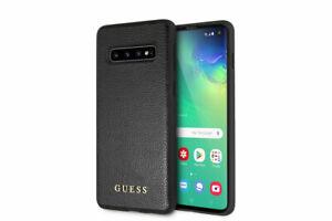 Guess-Iridescen-4G-Samsung-Galaxy-S10-G973F-SCHUTZHULLE-Back-Case-Cover-Schwarz