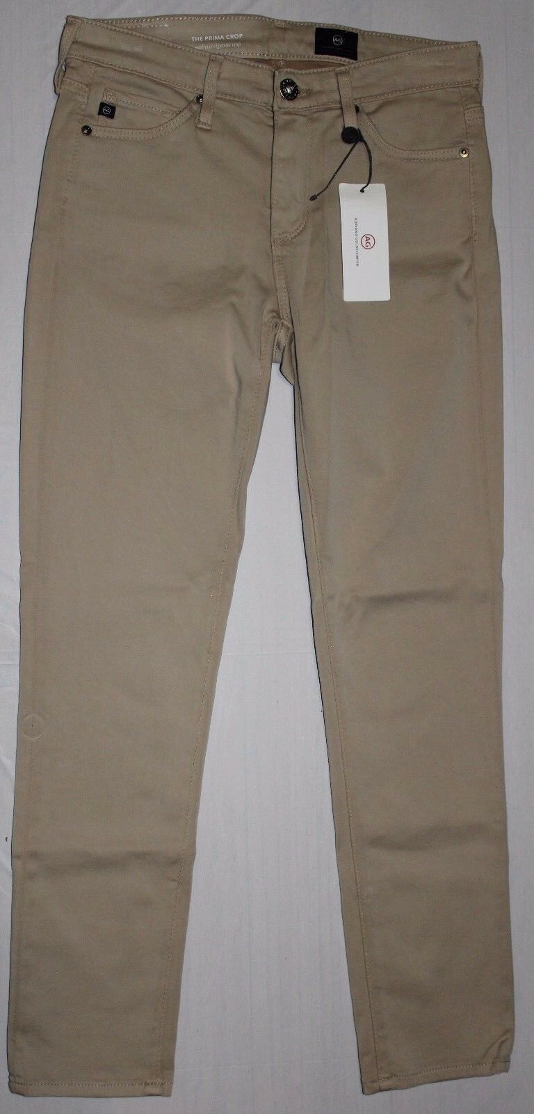 178 AG ADRIANO goldSCHMIED THE PRIMA MIDRISE CIGARETTE CROP JEANS SZ 24