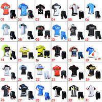 Bike Riding Uniforms Cycling Jersey Shorts Outfits Cycle T-shirt Pants Kits