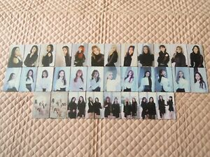 Monthly-Girl-LOONA-1st-Mini-Album-Repackage-X-X-Photocard-KPOP-Butterfly