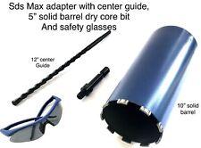 5 Core Bit Fits Hilti Dewalt Bosch Sds Max Adapter 4 Hammer Drill With Pilot