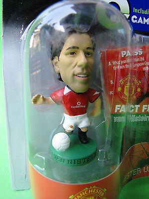 Lot of 3 ProStars  Rooney Ronaldo Van Nistelrooy Manchester United Football