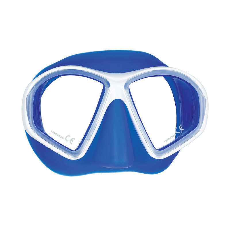 Mares Sealhouette Scuba Diving Snorkeling Mask White bluee 411058