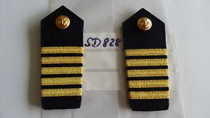Schulterstücke Polizei WSP 5 Streifen schmal auf Blau 1 Paar (sd828) - Helvesiek, Deutschland - Schulterstücke Polizei WSP 5 Streifen schmal auf Blau 1 Paar (sd828) - Helvesiek, Deutschland