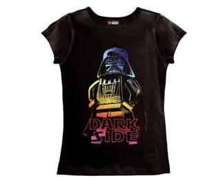 LEGO Star Wars Dark Side Pride Girls/' T-Shirt Retail Price 21.99.