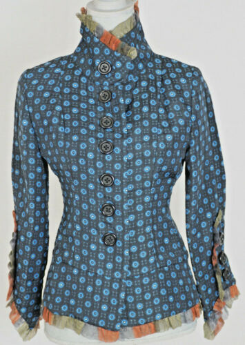 Stunning AN REN New York Jacket with Geometric Des