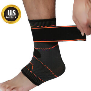 Adjustable-Ankle-Brace-Support-Compression-Sleeve-Pain-Relief-Elastic-Foot-Wrap