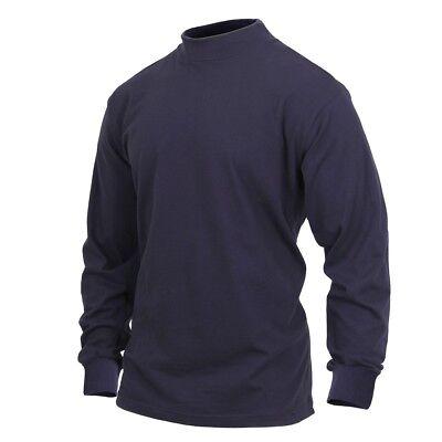 Brandit para Hombre Jersey para la Marina con Cremallera Troyer