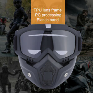 Sport-Ski-Gesichtse-Sporte-Skibrille-Motorrad-Schutzhelm-Brillen-DE