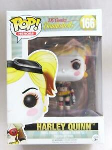 FUNKO-POP-VINYL-DC-BOMBSHELLS-HARLEY-QUINN-166-with-FREE-PROTECTOR