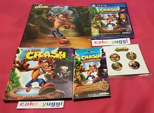 CRASH-BANDICOOT-N-SANE-TRILOGY-SONY-PS4-BONUS-FAN-PACK-COLLECTOR-PORTE-CLE