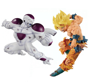 DRAGON BALL Z Goku SSJ Freezer Namek Figuras de acción Match Makers Banpresto