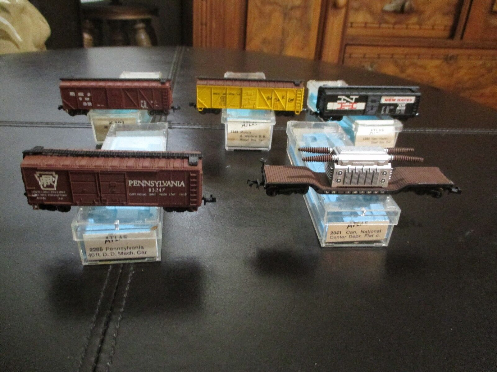 N Scale - Atlas LOT OF 5