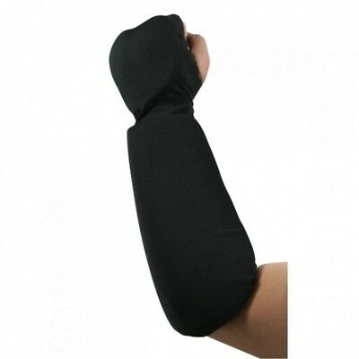 Taekwondo Karate Cloth Pad Forearm Hand Protector Fist Guard Sparring Gear-BK