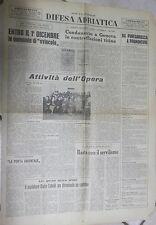 DIFESA ADRIATICA 16 25 Settembre 1965 Contraffazioni Luxardo profughi Giuliani