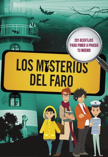 LOS MISTERIOS DEL FARO. NUEVO. Envío URGENTE. LITERATURA JUVENIL: MAS DE 12 AÑOS