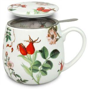 teetasse mit sieb und deckel my favourite tea hagebutte k nitz ebay. Black Bedroom Furniture Sets. Home Design Ideas
