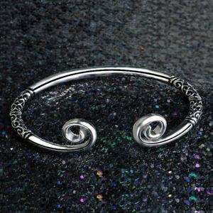 Man-Bangle-Hoop-Jewelry-Women-Fashion-Bracelet-Cuff-Sculpture-Fashion