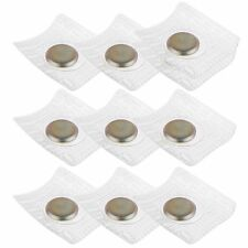 10pcs 12x2mm Invisible Hidden Sew in Magnetic Snap Magnet button Closure DIY bag