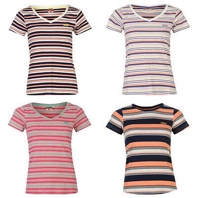 Lee Cooper Damen T-Shirt Shirt gestreift Streifen Sommer L XL XXL 40 42 44